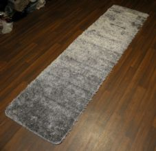 Romany Washables Runners/Mats 60x220cm Aproxx 7ft Sparkle Silver Non Slip Gypsy